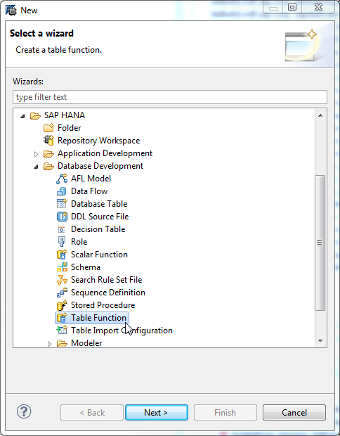 Tutorial: Create a Table User-Defined Function - SAP Help Portal