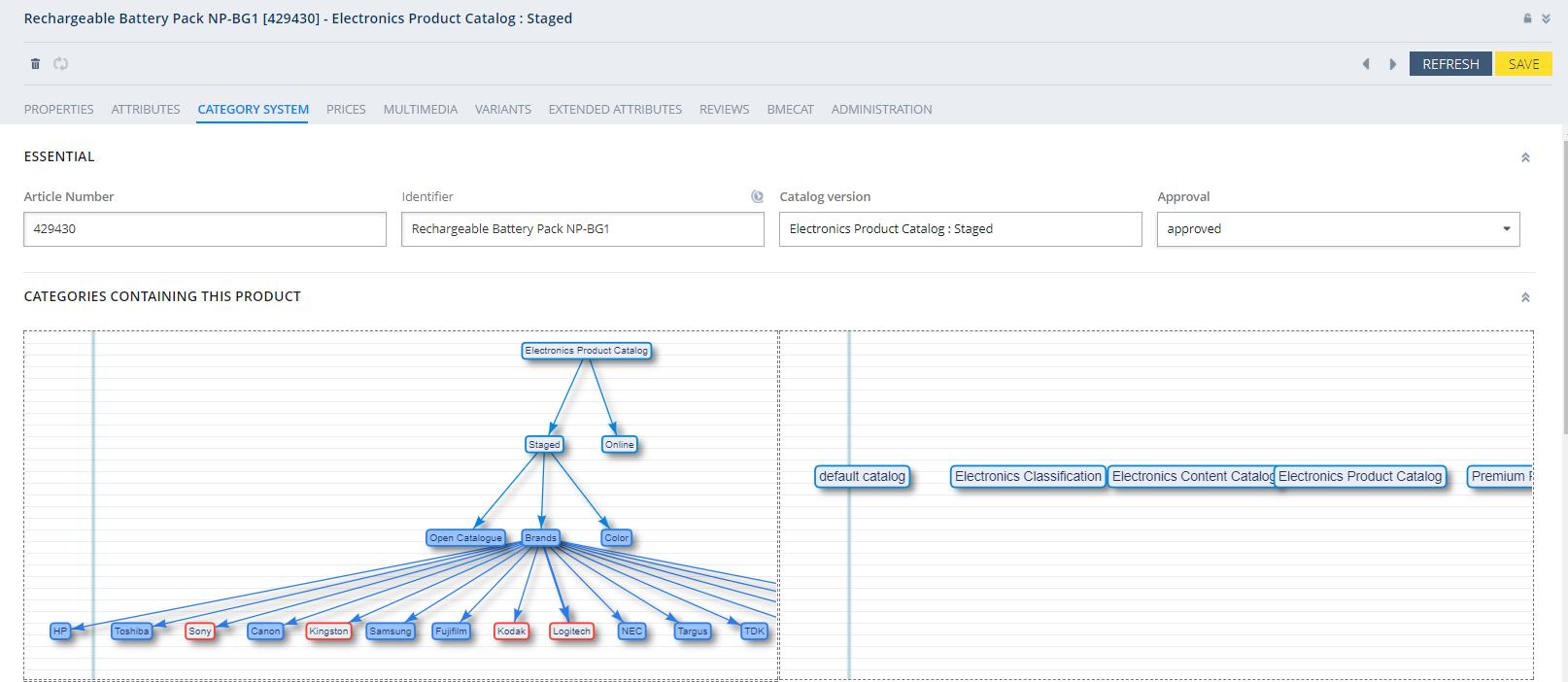 Network Chart Widget - SAP Help Portal