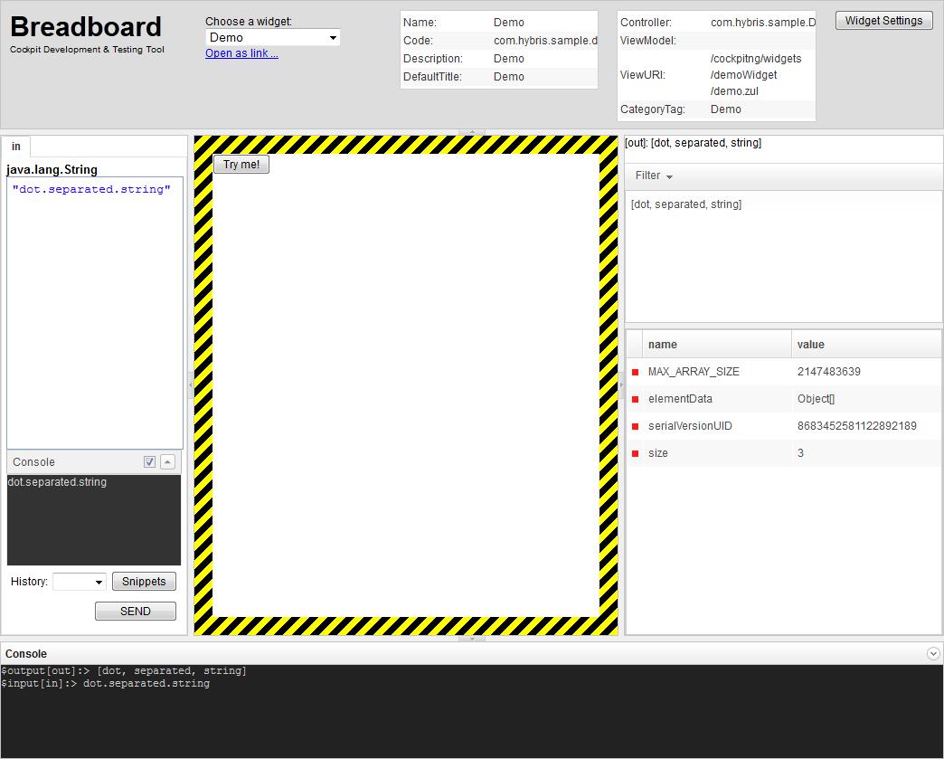 Testing a Widget - SAP Help Portal
