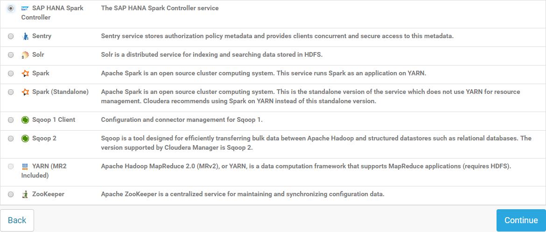 Install SAP HANA Spark Controller Using Cloudera Manager