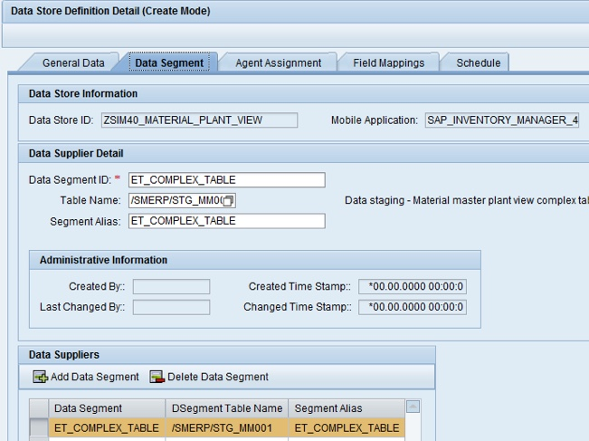 Data Staging Activation: Detailed Example - SAP Help Portal