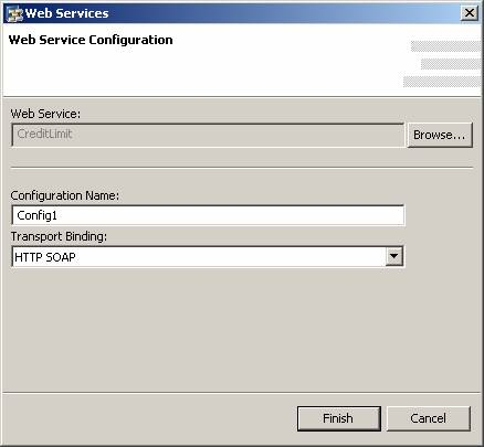 Creating a Web Service and a Web Service Configuration (SAP Library