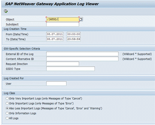 application log viewer