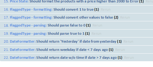 figure 1 unit tests of the formatter