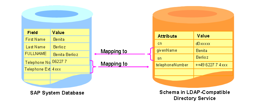 Mapping SAP Data Fields To Directory Attributes - Sap data mapping