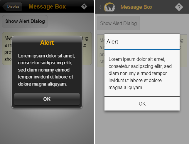 android - Toast message or dialog message for displaying internet ...
