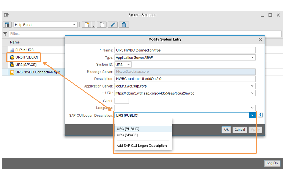 how to setup application help in sap