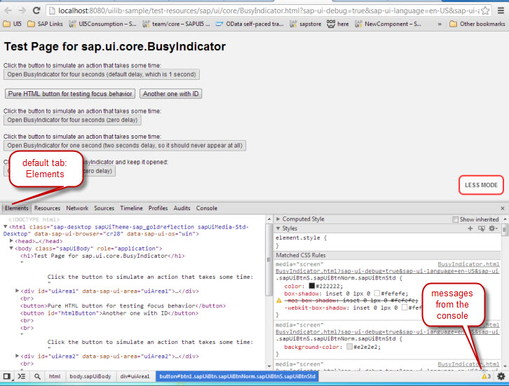 SAPUI5 Troubleshooting JS Debugger 1